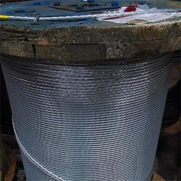 CITEC 1X7WIREROPE Galvanized Steel Spiral Strand Wire Rope 1000ft Roll