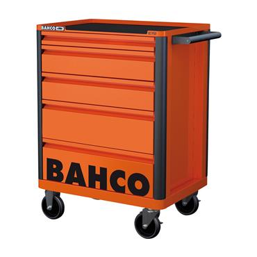 Bahco E72 1472K5FF2SD 5 Drawers Orange Cabinet with 145 Piece Tools