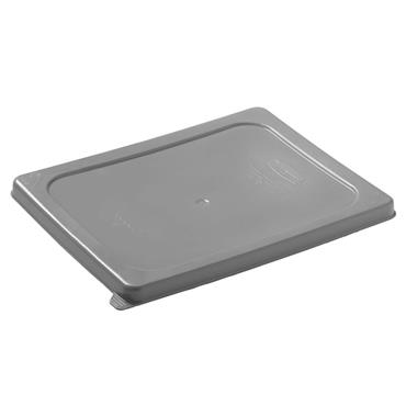 Rubbermaid 129P Half Size Grey Food Pan Secure Sealing Lid