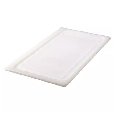 Rubbermaid 147P Full Size White Soft Sealing Lid for Cold Food Pan