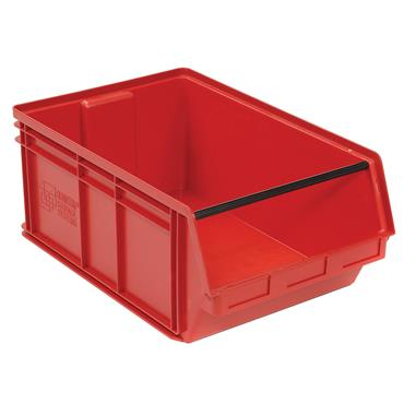 Quantum Storage 648 x 425 x 279mm Magnum Plastic Stackable Storage Bin - QMS743