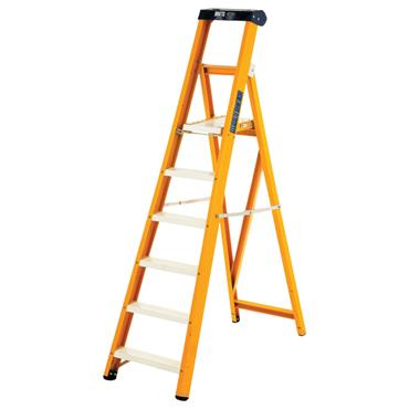 Bratts Ladders GSP Glass Fibre Folding Platform Step Ladders