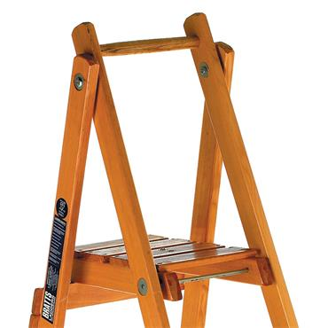 Bratts Ladders FPS Timber Platform Step Ladders
