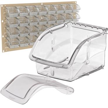 AKRO-MILS InSight™ Clear Storage Bins