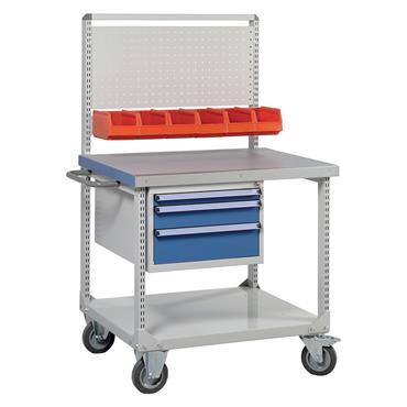 Treston C75007103 2-Shelf Heavy Duty Trolley