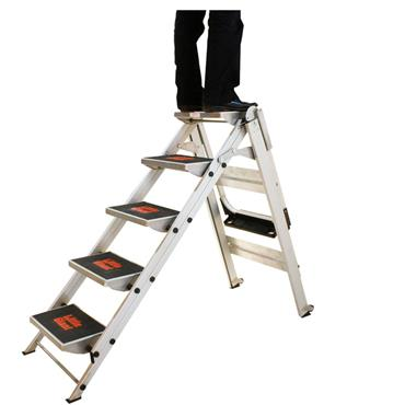 Little Giant 10510B 5 Step Aluminium Safety Ladder