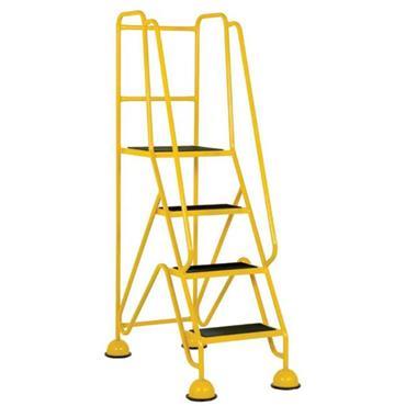 CITEC Classic Plus Mobile Safety Steps w/Spring Loaded Castors