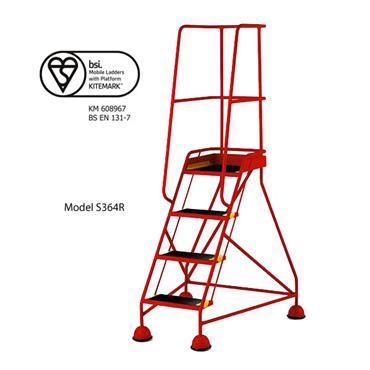 CITEC Classic BS EN 131-7 Safety Steps