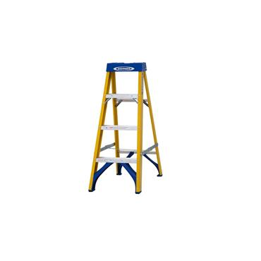 Werner 7160418 Stepladder Fibreglass 4 Tread Trade