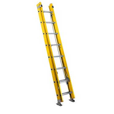 Werner 775 Series ALFLO Double Fibreglass Trade Extension Ladders