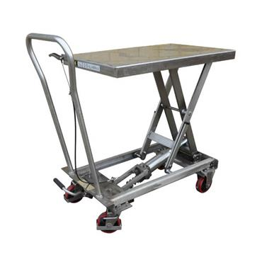 CITEC BSL Stainless Steel Mobile Scissor Lift Table