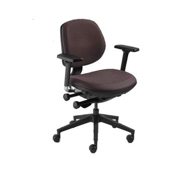 BIOFIT MP-1-MB-P25-L-RC-PM-XF-3D-6  MVMT Pro Series Chair with Black Reinforced Nylon Base Fabric