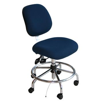 BIOFIT EES ESD Fabric Chair Blue