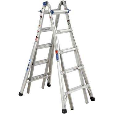 Werner 75055 5.79M Telescopic Combination Ladder MT22