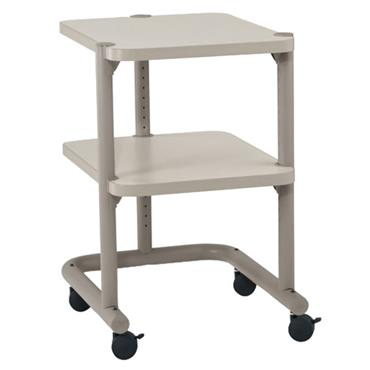 Anthro PC23BN4 Putty Mini Mobile Cart