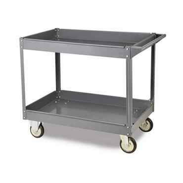 Citec WST2 Toptruck - Steel 2 Shelf Trolleys 250Kg Capacity