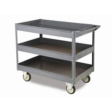 Citec WST3 Toptruck - Steel 3 Shelf Trolleys 250Kg Capacity