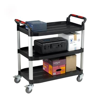 Citec WHTT3SL Utility Tray Trolleys - 3 Shelf