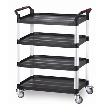 Citec WHTT4SL Utility Tray Trolleys - 4 Shelf