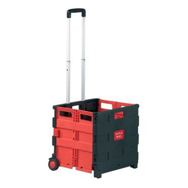 Citec FBT Foldable Box Trolley Red/Black