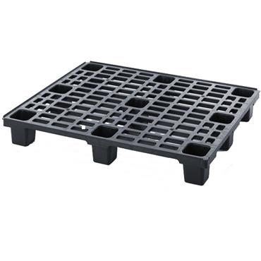 CITEC 1200 x 1000 x 150mm Lightweight Plastic Pallet with Retaining Edge - LP 1210