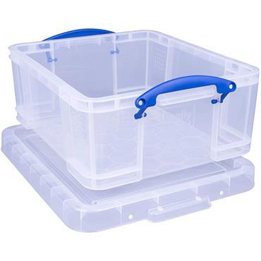 Really Useful 18L Plastic Storage Box W480xD390xH200mm