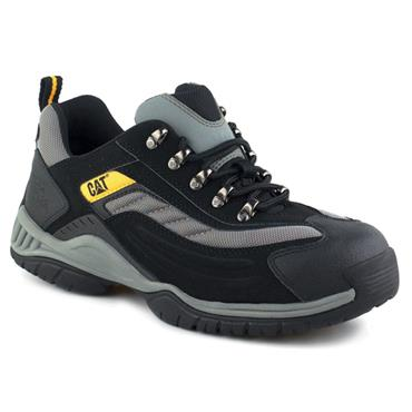 Caterpillar Moor Steel Toe SB Black Safety Trainers