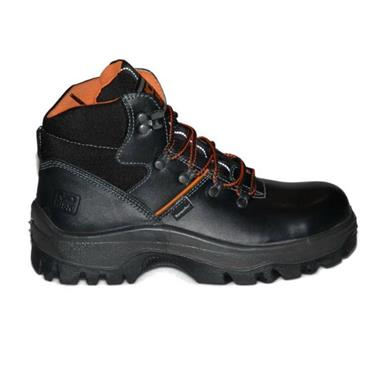 No Risk Franklin S3 Waterproof Black Safety Boots