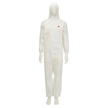 3M 4545 Protective Disposal Coverall - White
