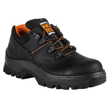 No Risk King S3 Leather Black Safety Shoes