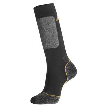 Snickers 9203 Black/Grey Wool Mix High Socks