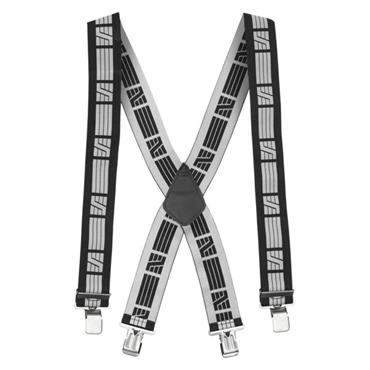 Snickers 9050 Work Elastic Braces - Black/Grey