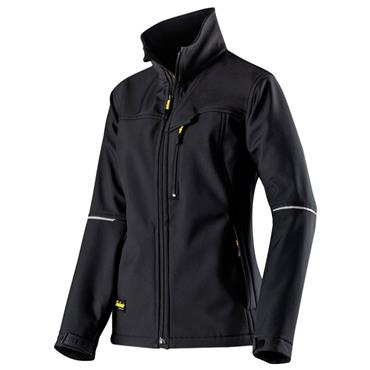 Snickers 1227 Women's Soft Shell Jacket - Black
