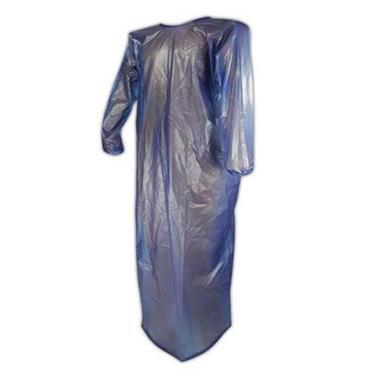 ANSELL  Blue Vinyl Coat Apron