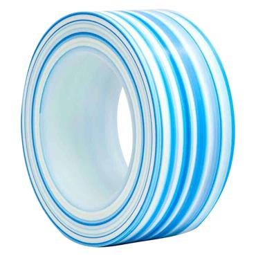 UltraTape 1153 Trademarked Blue and White Striped Protocol Tape