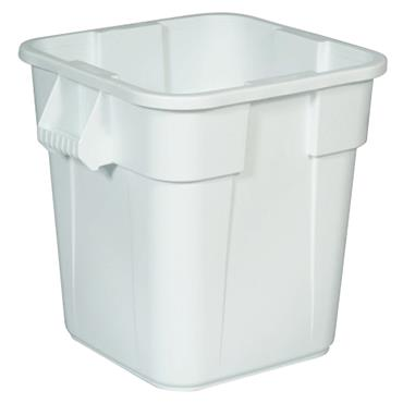 Rubbermaid 3526W 106 Litre White Square Brute Container