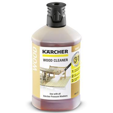 Karcher 62957570 1 Litre 3-in-1 Wood Cleaner Detergent