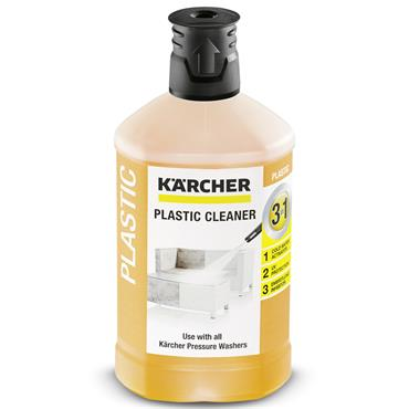 Karcher 62957580 1 Litre 3-in-1 Plastic Cleaner Detergent