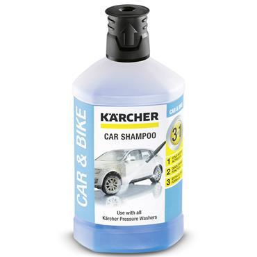 Karcher 62957500 1 Litre 3-in-1 Car Shampoo