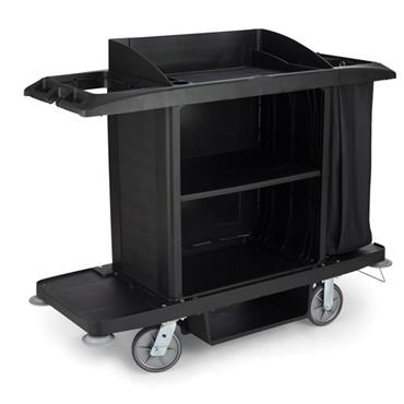 RUBBERMAID FG618900 Large Housekeeping Cart