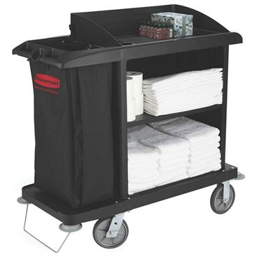 RUBBERMAID FG619000 Medium Housekeeping Cart