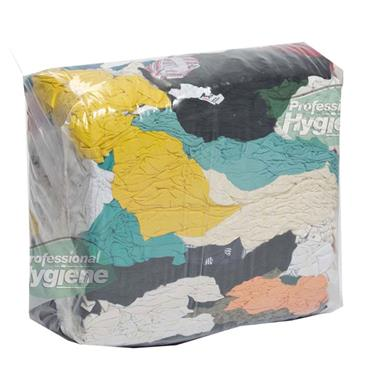 Citec Bag of T-Shirt Mixed Colour Rags 9Kg