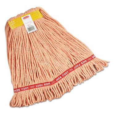 Rubbermaid RUBA111-06ORA Commerical Web Foot Wet Mops Orange