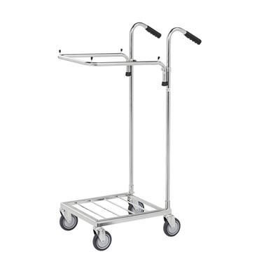 KM  KM153-SS Sack trolley   660 x 385 x 1090mm (L x W x H)