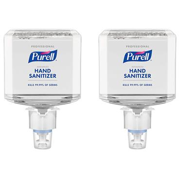 Purell 6454-02 1200ml Professional Advanced Hand Sanitizer Foam - 2 Case