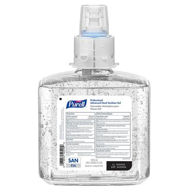 Purell 6462-02 1200ml Professional Advanced Hand Sanitizer Gel - 2 Case