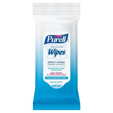 Purell 9124-28-CMR Hand Sanitizing Wipes - 20 Pack