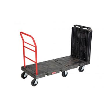 "Rubbermaid FG449600 Commercial Convertible Platform Truck 24"" x 52"""