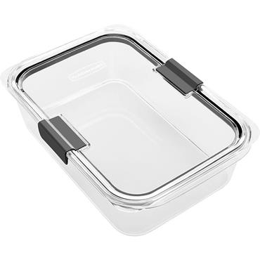 Rubbermaid 2024351 Brilliance 9.6 C. Clear Rectangle Food Storage Container