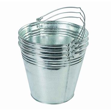 Citec 14 Litre Galvanised Bucket 3-pack